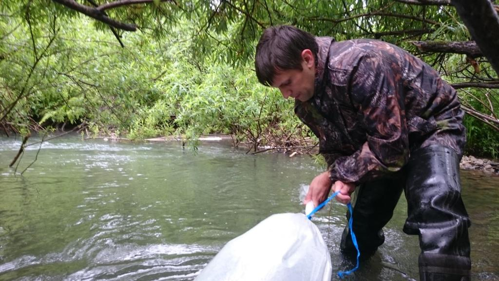 река азас рыбалка